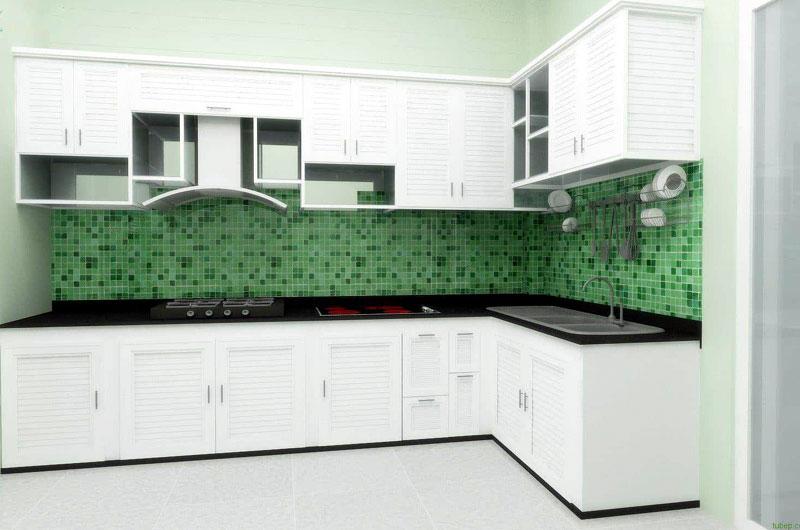 Tủ bếp nhôm kính đẹp nhất hiện nay