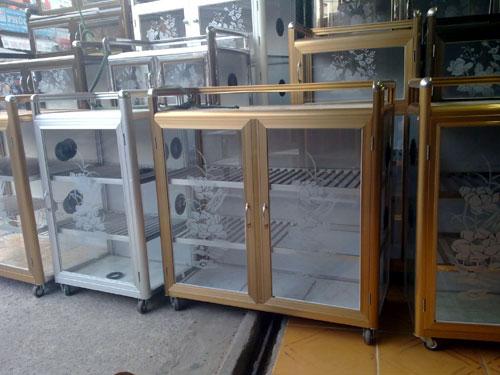 Tủ nhôm kính Bình Tân- MS02