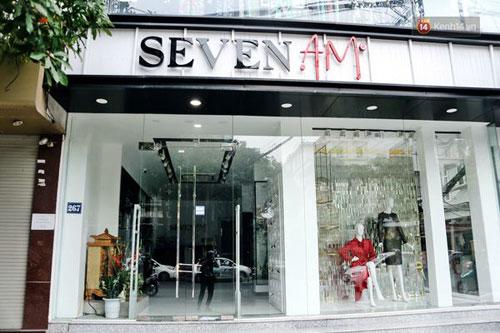 Cửa kính shop quần áo- MS02