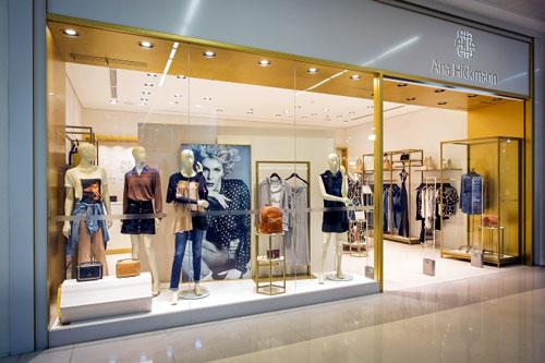 Cửa kính shop thời trang- MS02