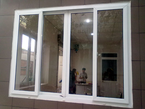 Cửa sổ nhôm kính quận 10- MS01