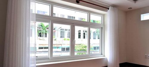 Cửa sổ nhôm kính lùa- MS08