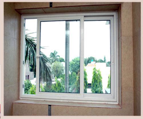 Cửa sổ nhôm kính lùa- MS10
