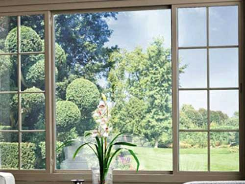 Cửa sổ nhôm lùa chia ô đẹp