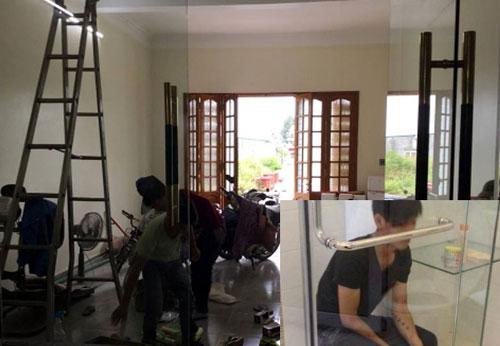 Sửa cửa nhôm kính Bình Chánh- MS02