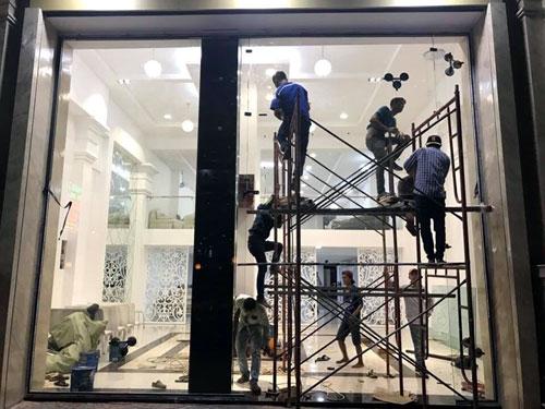 Sửa cửa nhôm kính Bình Thạnh- MS01