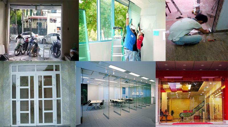 Sửa cửa nhôm kính quanaj4- quận 5- quận 6