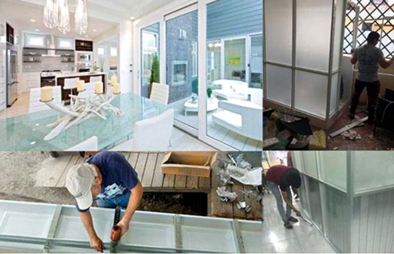 Sửa cửa nhôm kính Bình Tân tại nhà