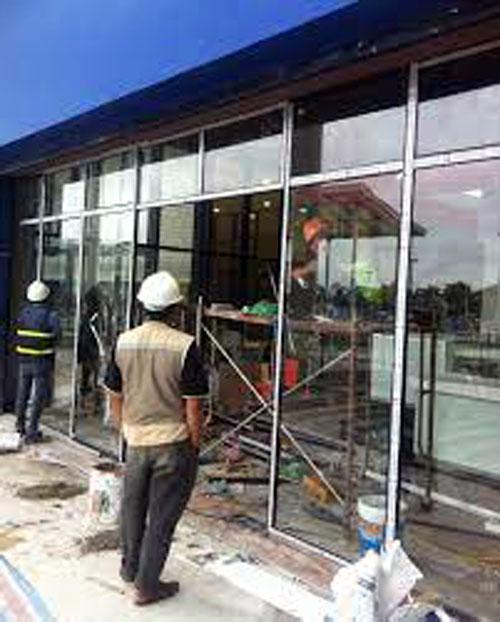 Sửa cửa nhôm kính quận Gò Vấp- MS01