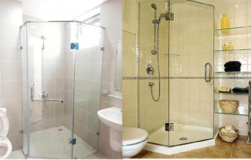 Vách kính cường lực phòng tắm TpHCM