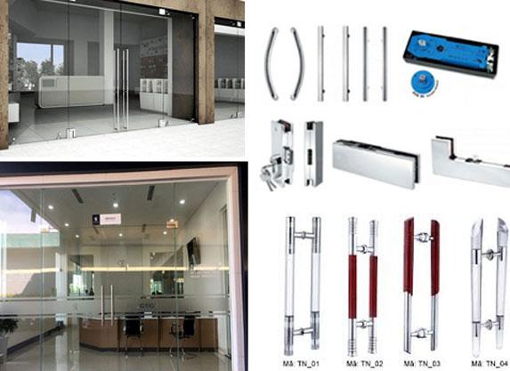 Sửa cửa kính cường lực giá rẻ- MS02