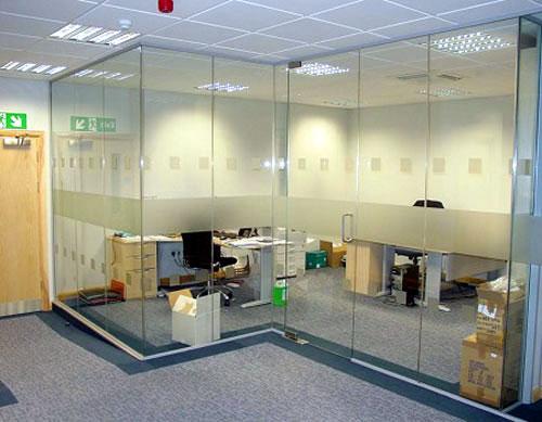Vách kính văn phòng- MS07