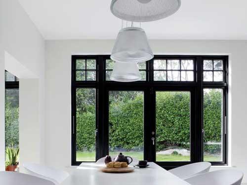 Cửa sổ nhôm kính đẹp 4 cánh
