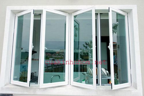 Mẫu cửa sổ nhôm hệ 700 đẹp- MS02