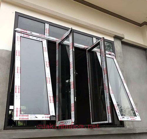 Cửa sổ nhôm xingfa 4 cánh đẹp- MS01