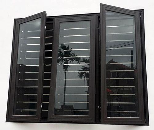 Mẫu cửa sổ nhôm kính 3 cánh đẹp 2021