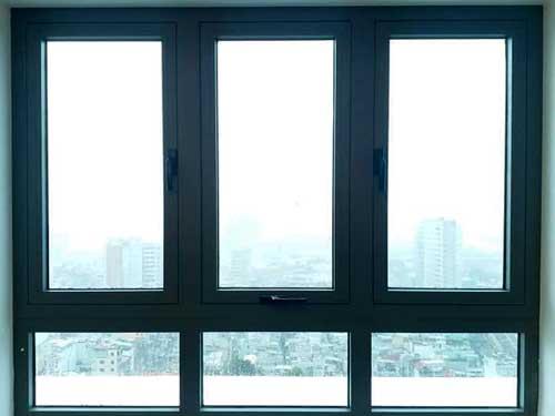 Cửa sổ nhôm Xingfa 3 cánh hất