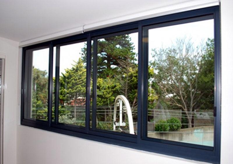 Mẫu cửa sổ nhôm kính đẹp 2021 cho nhà bếp