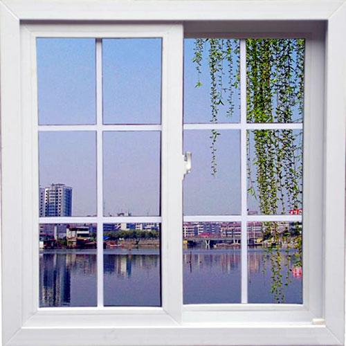 Làm cửa sổ nhôm Xingfa đẹp mở lùa 2 cánh
