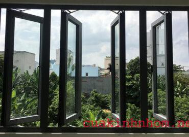 Thiết kế cửa sổ nhôm XIngfa đẹp 4 cánh tại TP.HCM