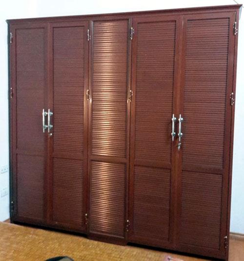 Tủ nhôm đựng quần áo- MS06