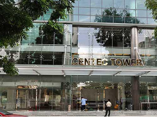 Vách kính mặt tiền cho trung tâm thương mại