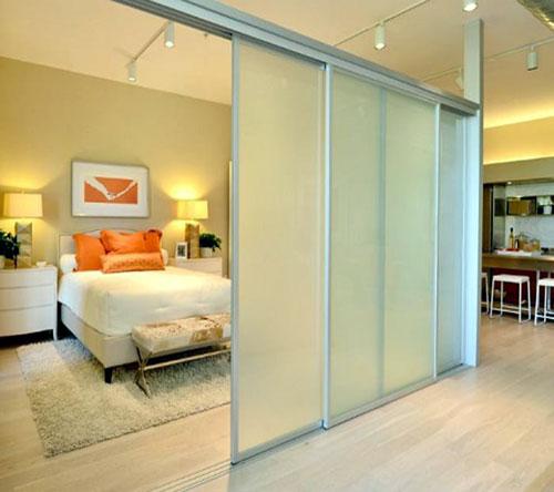 Mẫu cửa phòng ngủ trượt lùa đẹp- MS10