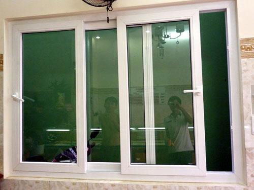 Cửa sổ lùa nhôm 3 cánh đẹp