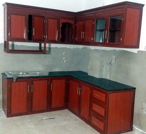 Tủ nhôm kính Bình Tân- MS05