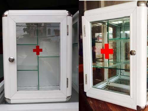 Tủ nhôm đựng thuốc và dụng cụ y tế cho gia đình