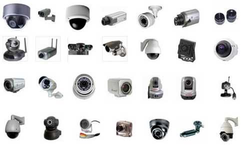 Các loại camera an ninh chống trộm sử dụng phổ biến hiện nay