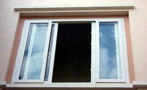 Cửa sổ nhôm lùa kính che mờ đẹp