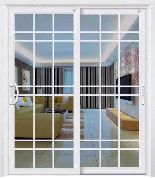 Mẫu cửa sổ nhôm chia ô đẹp mở lùa