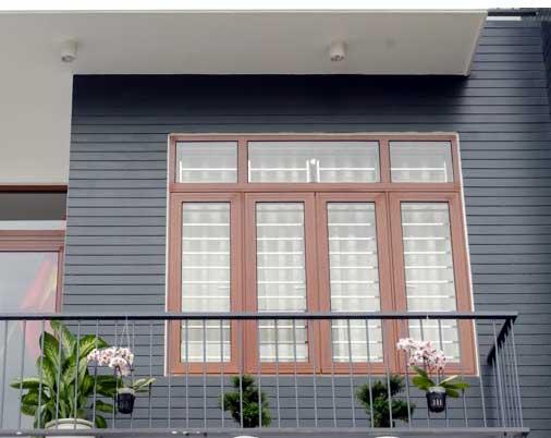 Mẫu cửa sổ nhôm kính chống trộm hiệu quả