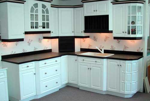 Mẫu tủ bếp nhôm đẹp sơn tĩnh điện cao cấp