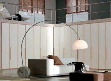 Thi công tủ âm tường phòng khách bằng nhôm kính đẹp, rẻ tại TP.HCM