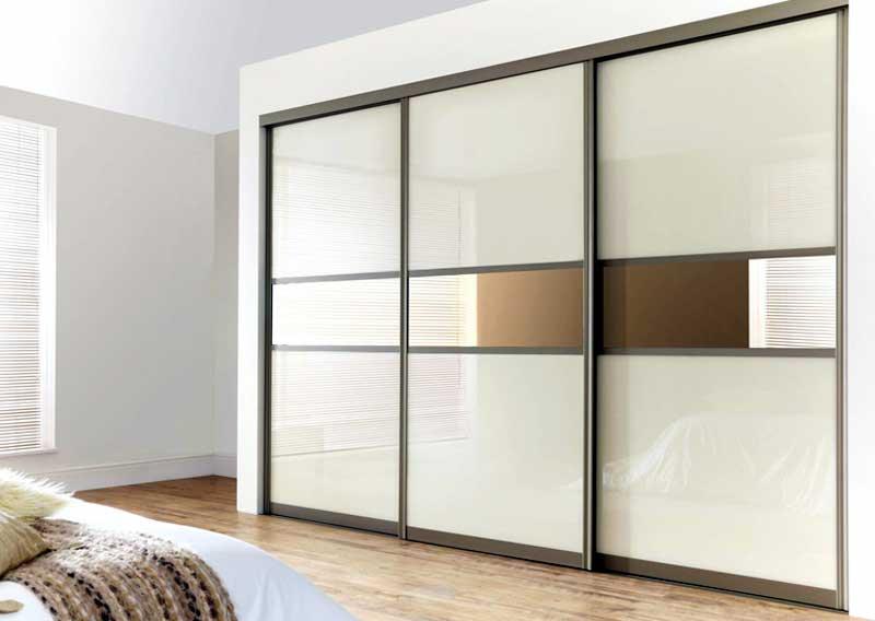 Thiết kế tủ quần áo âm tường nhôm kính đẹp rẻ nhất TP.HCM