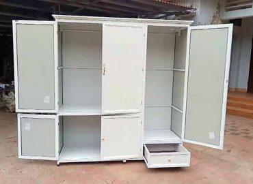Thiết kế tủ quần áo nhôm Xingfa hệ 55 uy tín tại TP.HCM