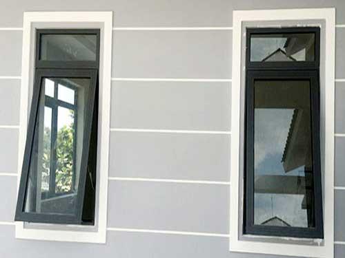 Cửa sổ nhôm kính quận 4 mở hất