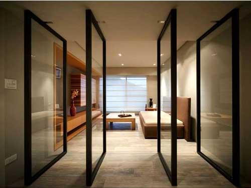 Cửa nhôm kính quận 4 thiết kế độc đáo