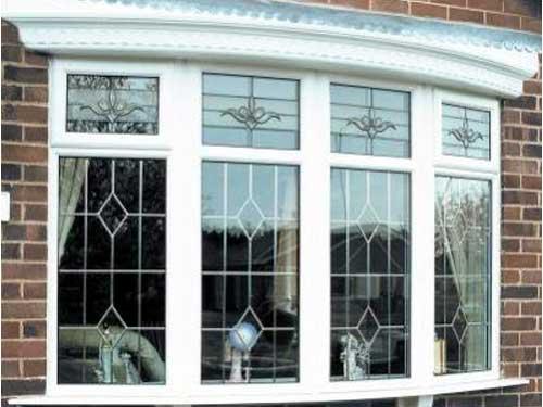 Mẫu cửa sổ nhôm trắng sứ 4 cánh đẹp