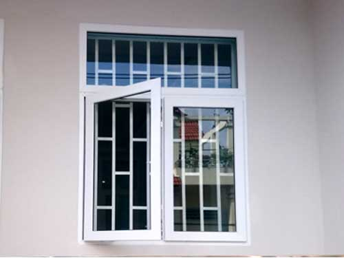 Cửa sổ đẹp 2 cánh màu trắng