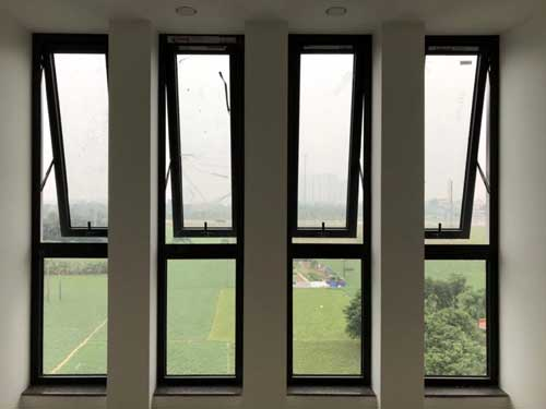 Mẫu cửa sổ nhôm Xingfa 1 cánh nhỏ