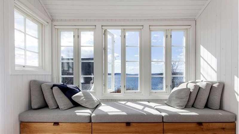 Cửa sổ nhôm kính phòng ngủ đẹp