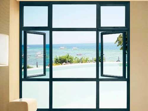 Mẫu cửa sổ nhôm Xingfa thiết kế độc đáo