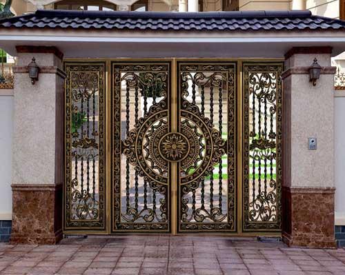 Mẫu cửa nhôm đúc biệt thự đẹp tại TPHCM