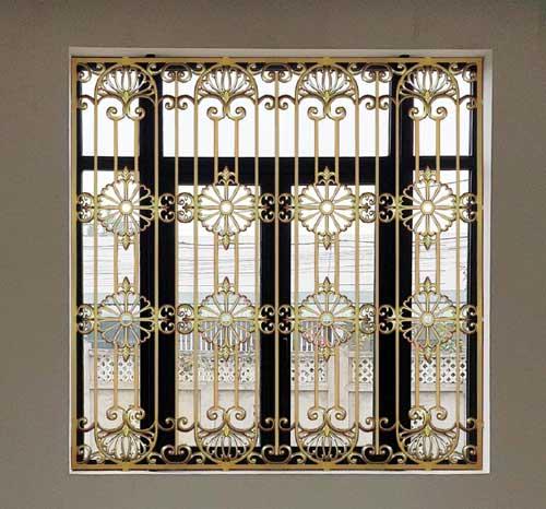 Mẫu cửa nhôm đúc đẹp cho cửa sổ