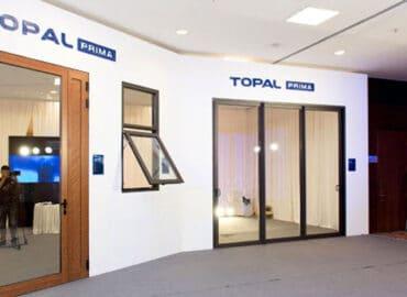 Mẫu cửa nhôm Topal chính hãng tại TPHCM
