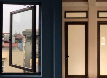 Mẫu cửa nhôm Xingfa 1 cánh đẹp 2021