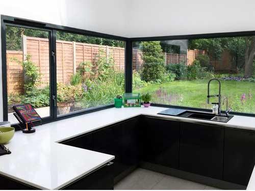 Cửa nhôm kính Bình Thạnh đẹp cho cửa sổ